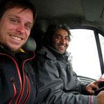en camionnette vers Istanbul