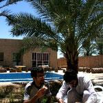 Khur, dans la guesthouse de Mohammed