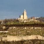 La forteresse de Tsarevets à Veliko Tarnovo