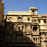 un des nombreux havelis de Jaisalmer