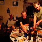 Ian, John et Paddy