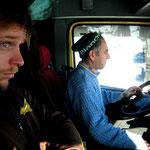 en camion vers Istanbul