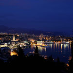 Split, vue depuis la colline de Marjan
