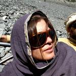 en route pour un trek dans la vallée de Naltar, avec Michaël et Marion