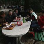 petite escapade dominicale dans les montagnes près de Split, avec Pascal, Hector, Sophie et compagnie