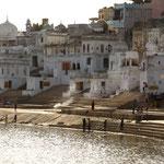 le lac sacré de Pushkar