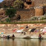 les ghats - lessives et toilettes