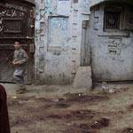 les traces des sacrifices de l'Eid