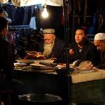 au marche de nuit de Kashgar
