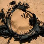 nos fidèles compagnons de route: les pneus éclatés