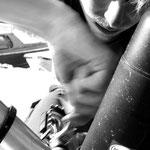 Mac Gyver répare ses pédales