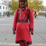tenue traditionnelle tadjik, en Chine