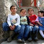 Les enfants d'Ali à Zeyrek