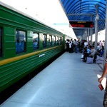 en train vers Turkmanabat