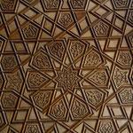 détail de porte de la mosquée d'Urfa