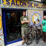 la super boutique de vélos de Joaquin