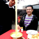 le Kuymak : du beure, du fromage fondu, du maïs... léger quoi!