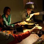 l'aumône des cyclistes : risotto et curry d'aubergines!