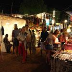 marché de nuit d'Anjuna