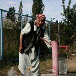pompe à eau dans les villages