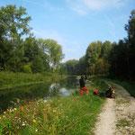 Canal de l'Ourcq à la Ferté Milon