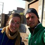 en route pour Jaisalmer, 120 km par jour