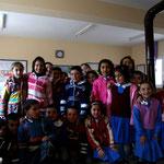 Une école sur la route