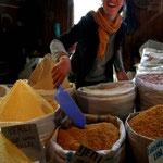au marché de Trabzon