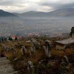 La brume envahit la vallée de la Neretva