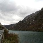 La route vers Sarajevo longe la Neretva