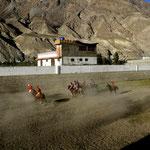 au match de polo, à Gilgit