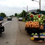 vendeur de pastèques