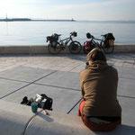 Arrivée à Split, tôt le matin