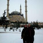 Edirne sous la neige