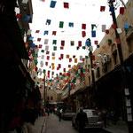 les rues d'Alep