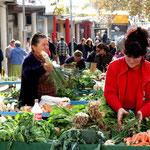 marché aux légumes de Split