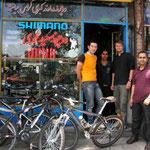 Saïd Mahammedi, le meilleur ami des cyclistes à Tabriz