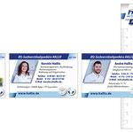 Visitenkarten und Notizblock