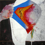 To Become Superhero 120x120 cm Epoca 2014