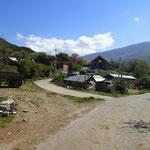unterwegs von Korçe nach Permet
