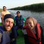 Bootstour in der groessten Suesswasserlagune der Welt, Bandar Anzali