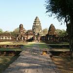 Weils so schön ist gleich nochmal: Khmer Tempelanlage in Phimai