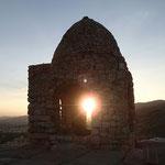 Sonnenuntergang in Shiraz
