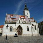 Zagreb: Markuskirche