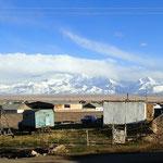 Aussicht auf die Berge Chinas