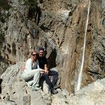 Der grosse Wasserfall von Arslanbob