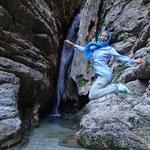 Ausflug mit Familie Daneste im Wald nahe Mashhad