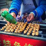 Brotwoorscht auf chinesisch