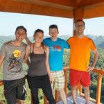 Wanderung auf der Insel Cát Ba in der Halong Bucht