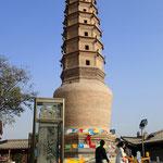 Lanzhou, Tempel der weißen Pagode